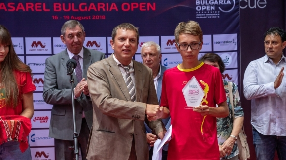 Турнирът по тенис на маса Seamaster 2018 ITTF World Tour