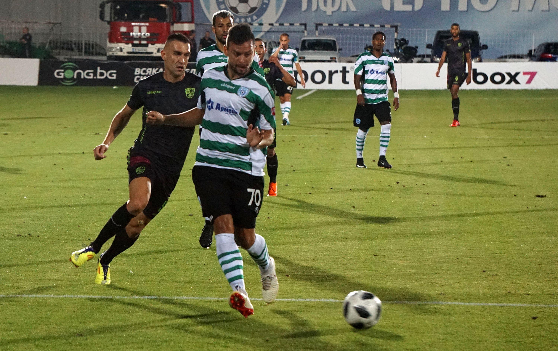 Отборите на Черно море и Берое играят при 0:0 в