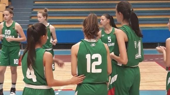 Българският национален отбор за момичета до 14 години стартира с