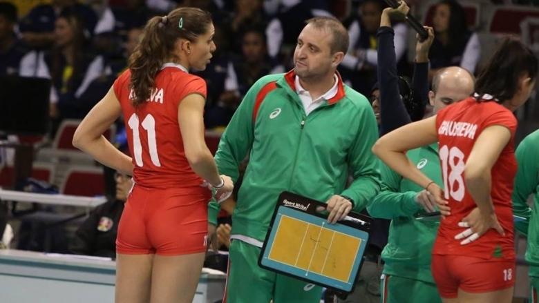 Треньорът на женския национален отбор по волейбол и Марица (Пловдив)