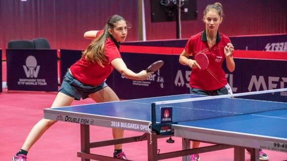 Българската двойка Калина Христова и Ивет Илиева отпадна на четвъртфиналите