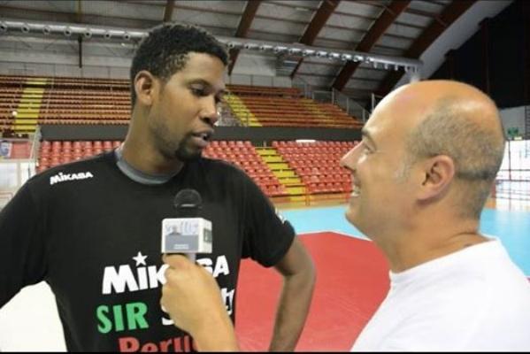 Шампионът на Италия по волейбол за мъже Сър Сейфти (Перуджа)