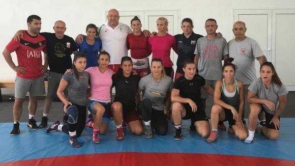 Министърът на младежта и спорта Красен Кралев посети тренировката на