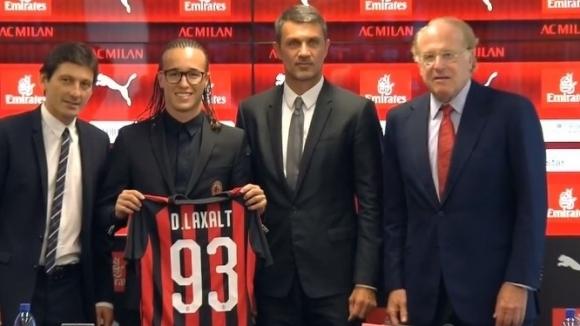 Новото попълненеие на Милан Диего Лаксалт бе представен на официална
