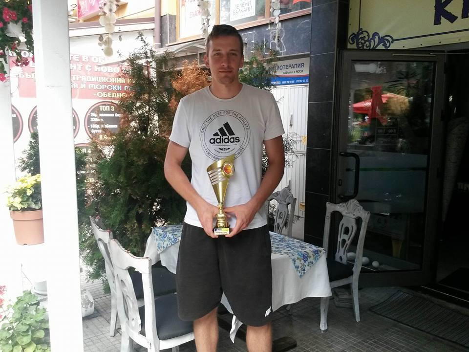 Националът Димитър Димитров беше обявен за най-добър баскетболист на Пловдив