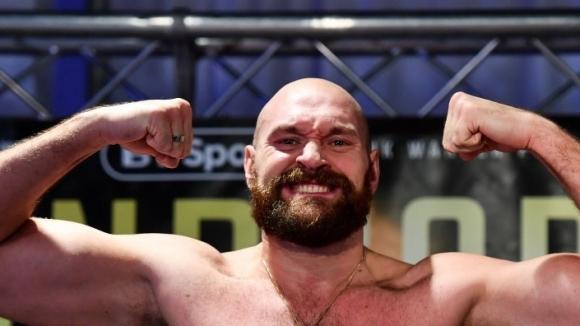 Бившият световен шампион по бокс в тежка категория Тайсън Фюри