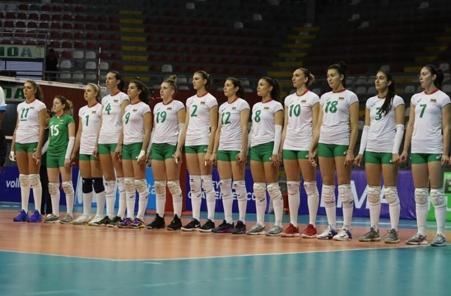 Женският национален отбор по волейбол на България завърши наравно с