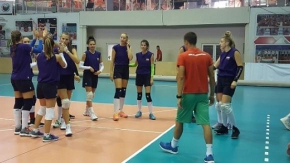 Националният отбор по волейбол на България за девойки под 19