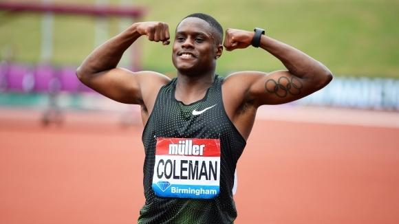 Хилядни от секундата решиха мъжкия спринт на 100 метра на