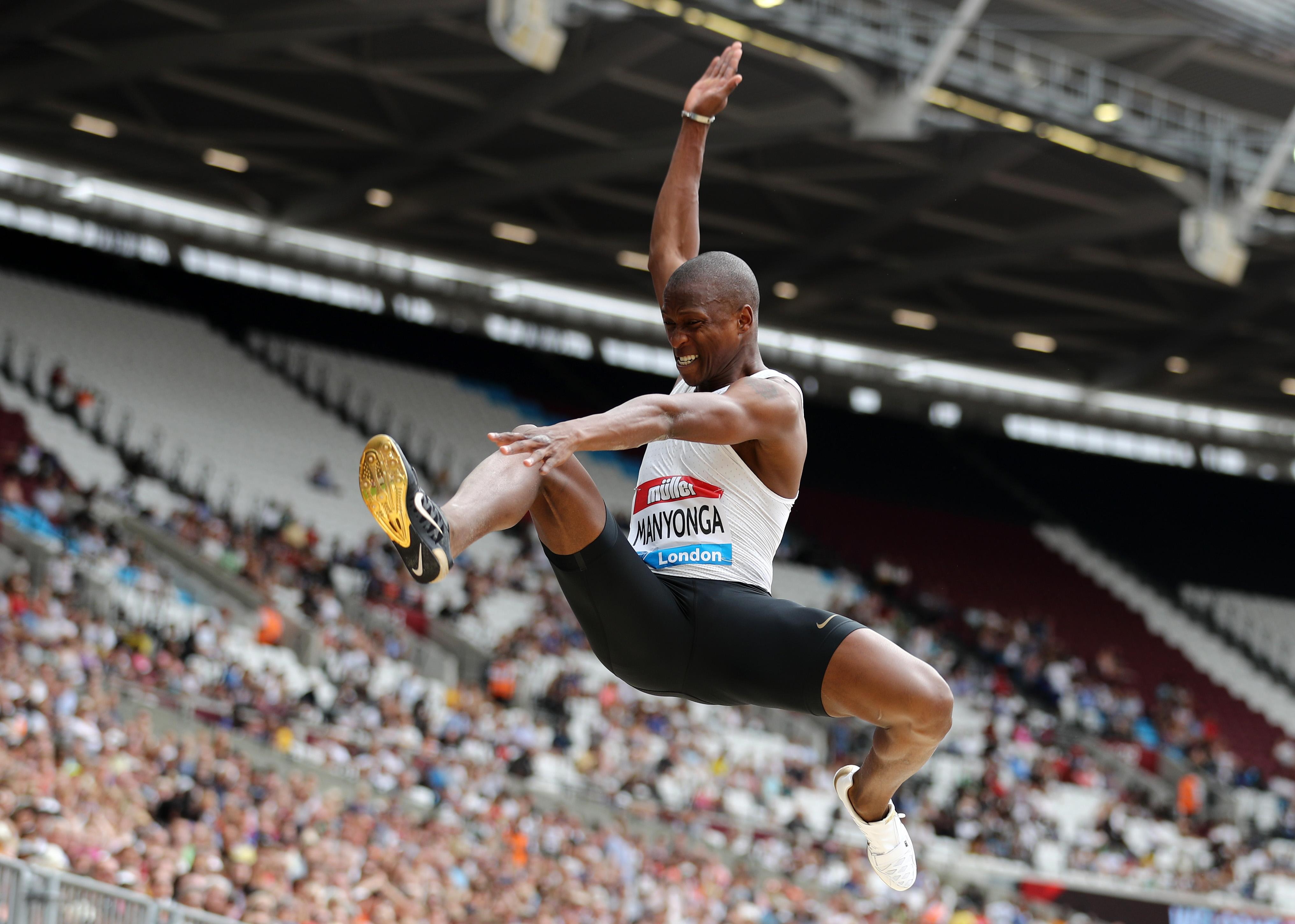 Световният шампион в скока на дължина от Лондон 2017 Луво