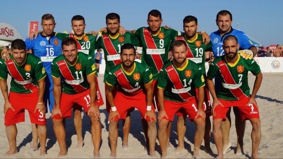 Националният отбор на България по плажен футбол загуби първата от