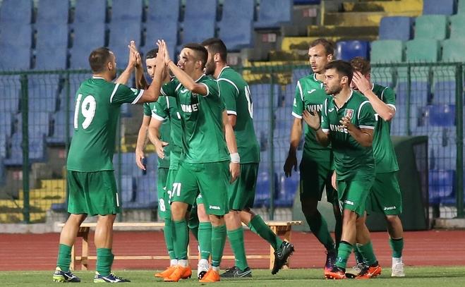 Героят за Ботев (Враца) при победата с 2:0 над Етър
