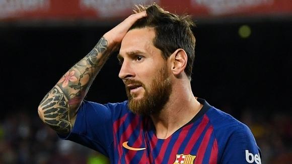 Капитанът на Барселона Лионел Меси вкара два гола за първата