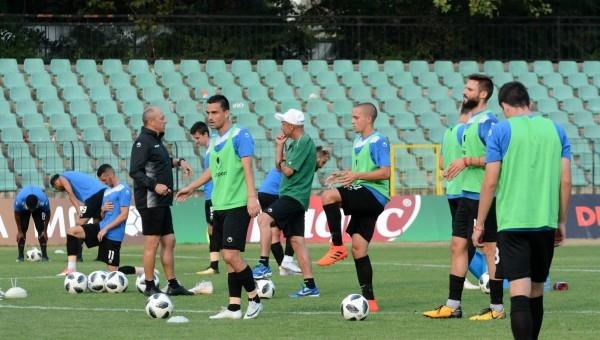 Отборът на Черно море започна подготовка за гостуването на Локомотив