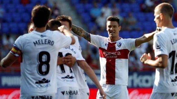 Абсолютният дебютант в Ла Лига Уеска спечели с 2:1 при