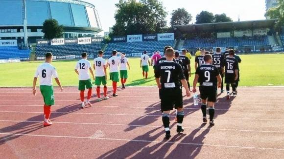 Локомотив (Русе) записа скромен успех с 1:0 на старта на