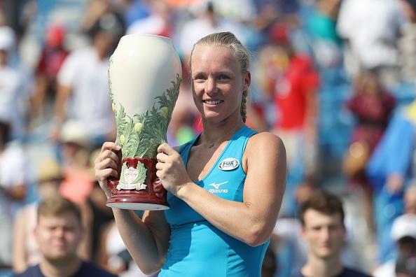Холандката Кики Бертенс спечели най-голямаат титла в кариерата си досега.