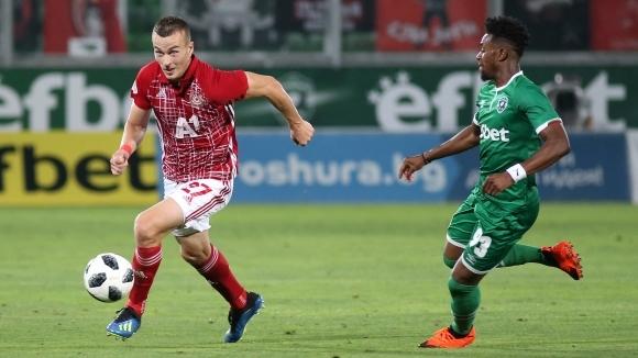 Защитникът на ЦСКА-София Борис Секулич коментира поражението на тима си