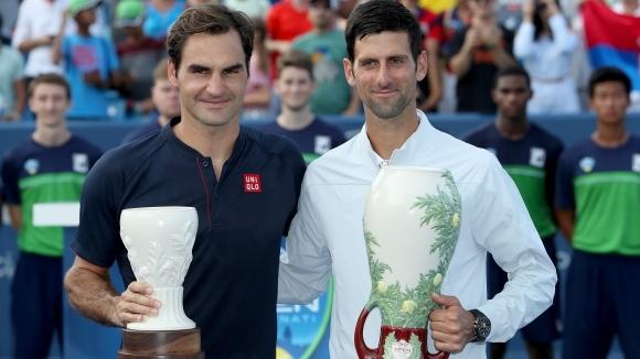 """Носителят на 20 титли от """"Големия шлем"""" Роджър Федерер засипа"""