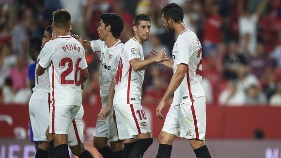 Петкратният шампион на Лига Европа Севиля постигна минимална победа с