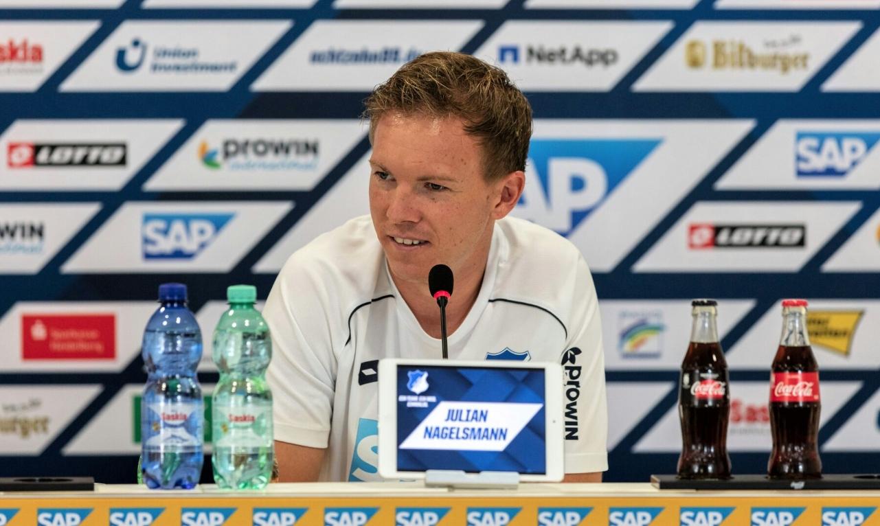 Треньорът на Хофенхайм Юлиан Нагелсман е разочарован от съдийството в