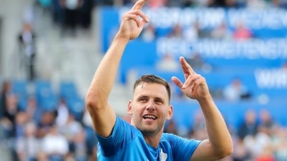 Участникът в Шампионската лига Хофенхайм спечели с 3:1 у дома