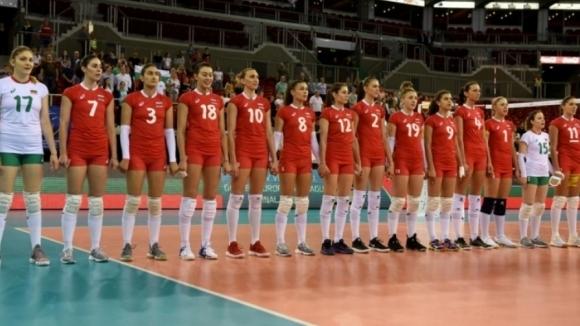 Женският национален отбор по волейбол на България замина за Сърбия,