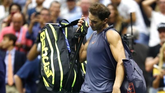 Защитаващият титлата си на US Open Рафаел Надал приключи по