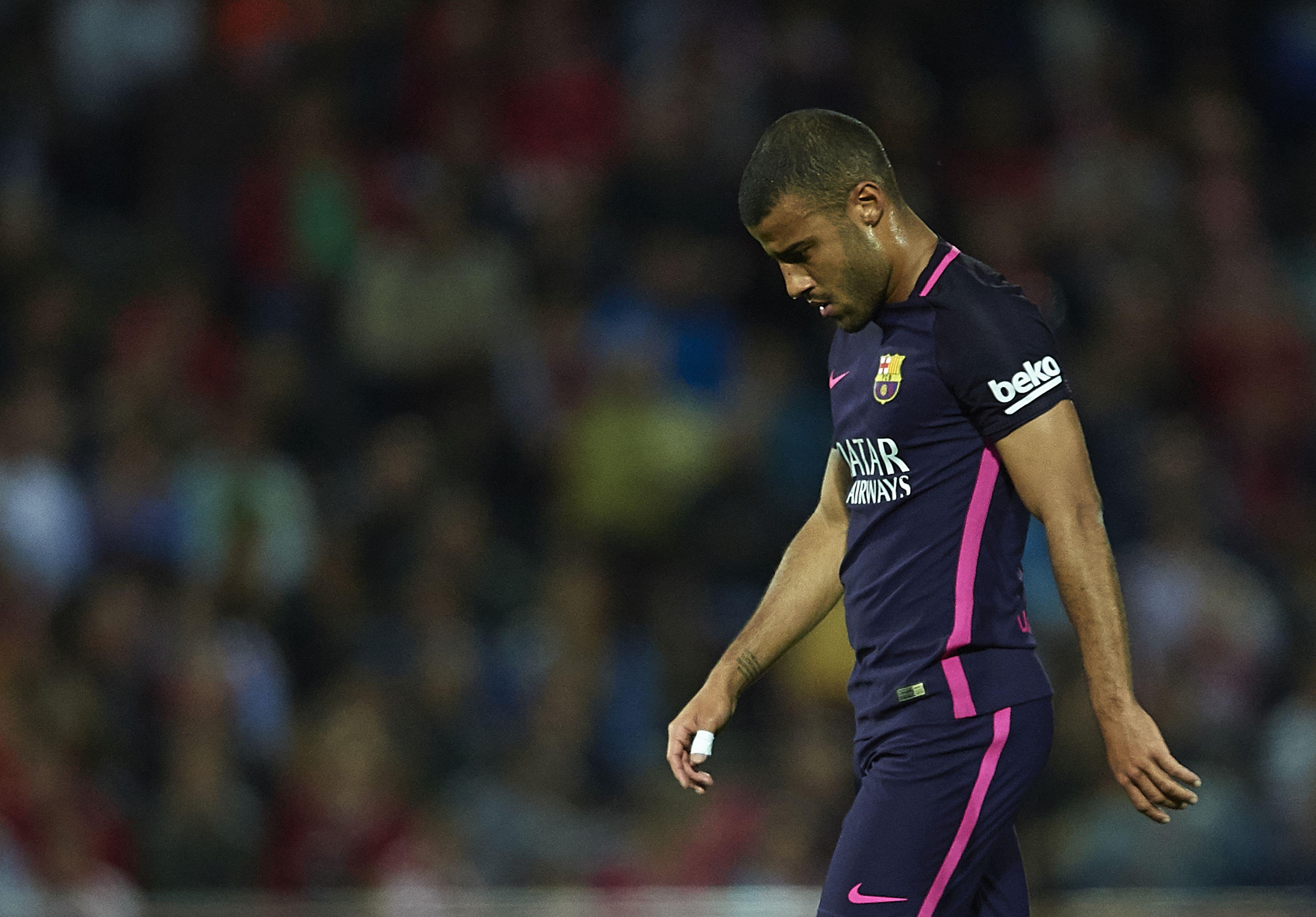 Халфът на Барселона Рафиня Алкантара отказва да подпише нов договор