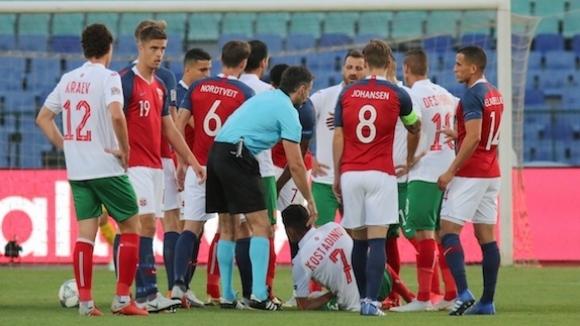 Норвежките национали си намериха оправдание за загубата с 0:1 от