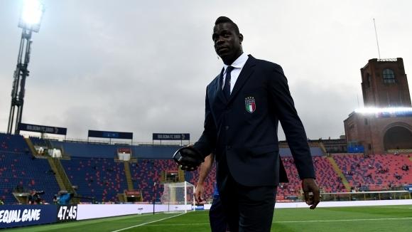 Марио Балотели отпадна от състава на Италия в последния момент