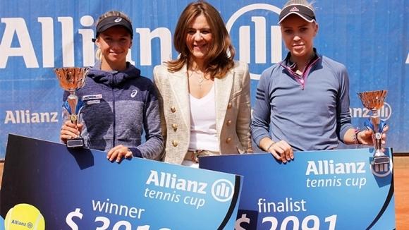Австрийката Барбара Хаас спечели 28-ия тенис турнир за жени на