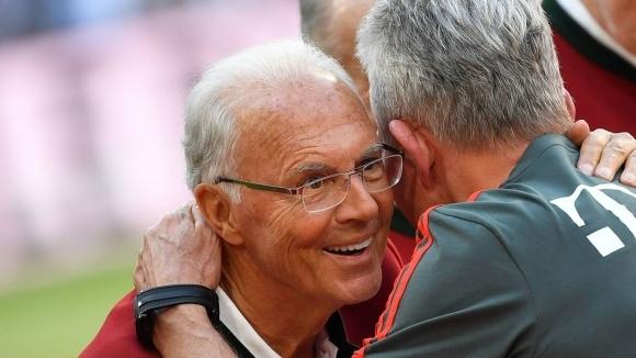 Една от най-големите футболни легенди в световен мащаб Франц Бекенбауер