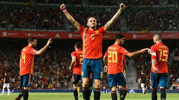 Тимът на Испания не показа никаква милост при домакинството си