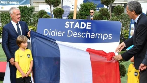 Наставникът на световния шампион Франция Дидие Дешан вече може да
