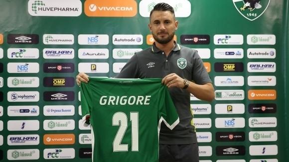 Централният защитник на Лудогорец Драгош Григоре е пред скорошен дебют