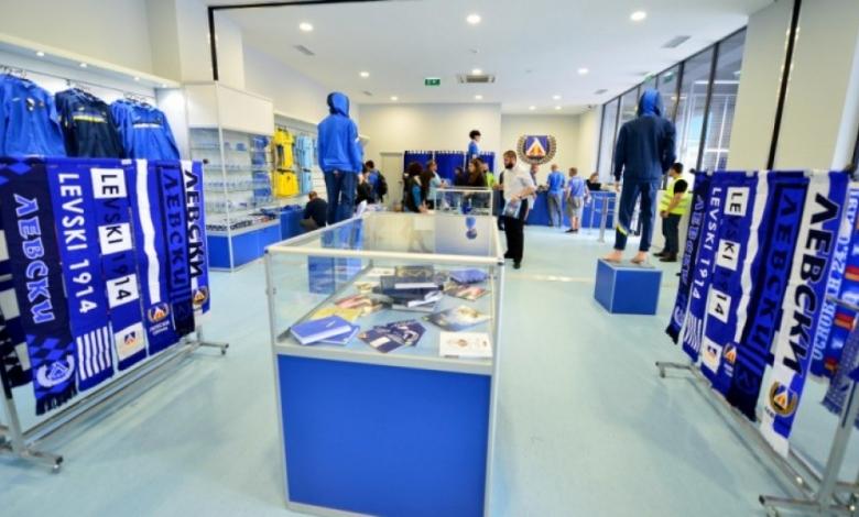 Официалното отваряне на магазина на Левски ще бъде на 21