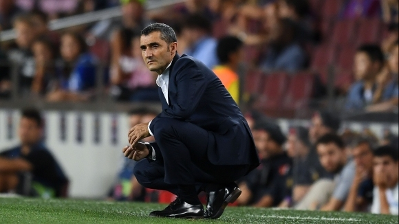 Наставникът на испанския шампион Барселона Ернесто Валверде осъзнава, че го