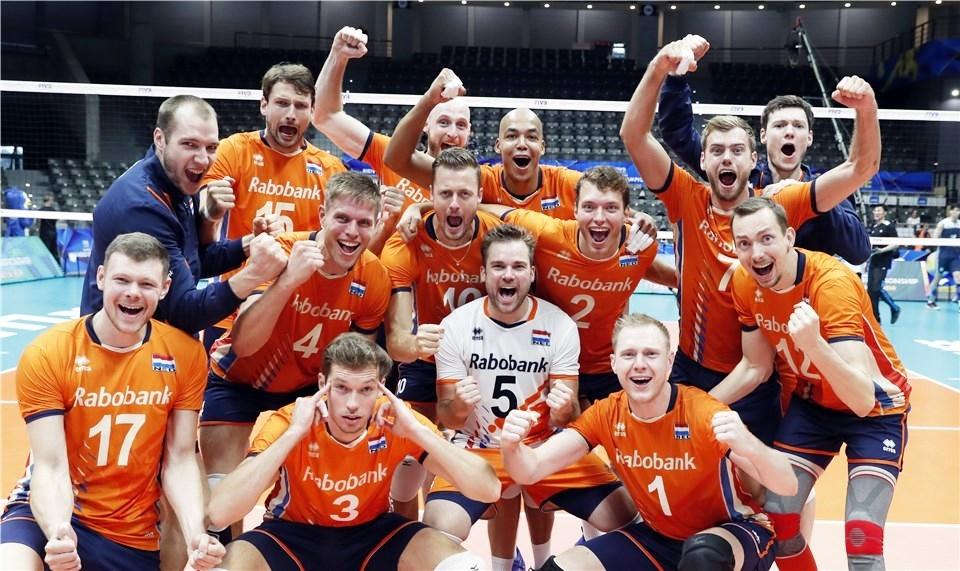 Националният волейболен отбор на Холандия записа първа победа на Световното