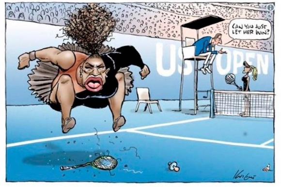 Половинката на американската тенисистка Серина Уилямс Алексис Оханян се възмути