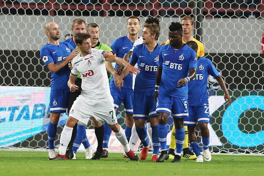 Локомотив Москва удържа 1:1 у дома срещу съгражданите си от