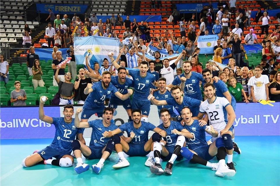 Волейболистите от националния отбор на Аржентина постигнаха своята първа победа