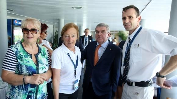 Президентът на МОК Томас Бах остана очарован от организацията на