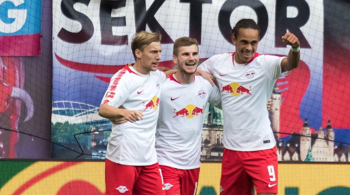 Тимът на РБ (Лайпциг) извоюва първата си победа в Бундеслигата