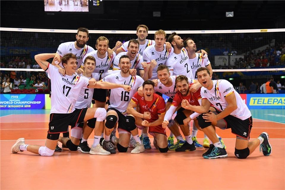 Волейболистите от националния отбор на Белгия направиха важна крачка към