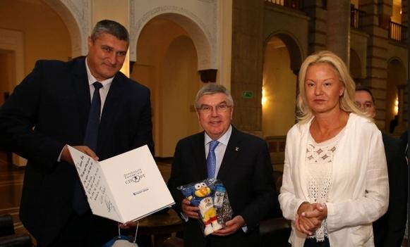 Една от най-колоритните звезди на българския спорт и вицепрезидент на