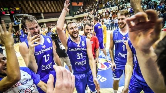Баскетболните национали на Чехия отвориха нова страница в историята си,