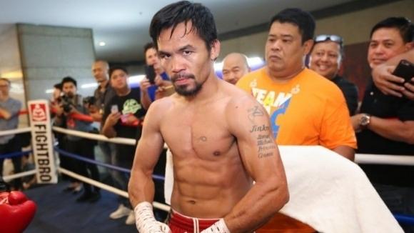 Филипинската боксова легенда Мани Пакяо опроверга информацията на Флойд Мейуедър,