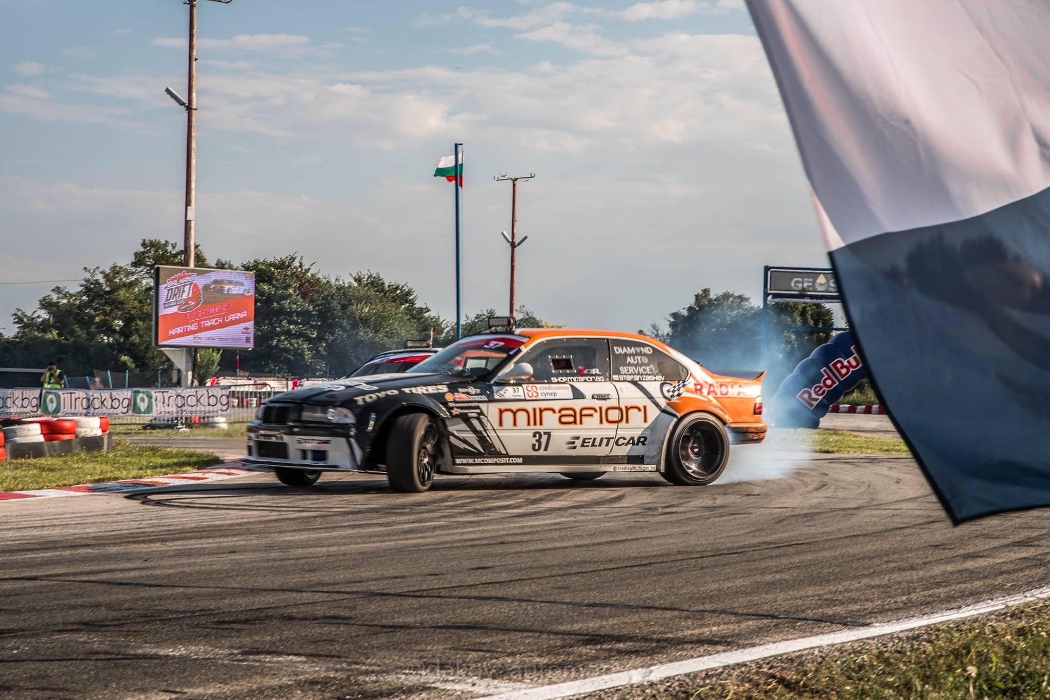 Българският автомобилен състезател Стефан Цанков-Арчи спечели Balkans Drift SuperCup 2018.