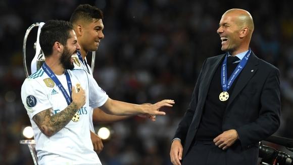 Клубната телевизия на Реал Мадрид пусна седемминутно видео с ексклузивни